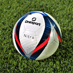 Onesport Nitro Football Size 3 White/Red