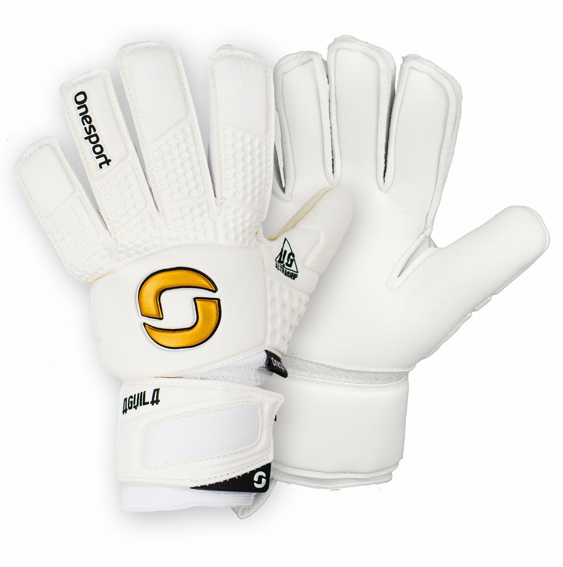 Onesport Aguila Junior Goalkeeper Gloves White Out