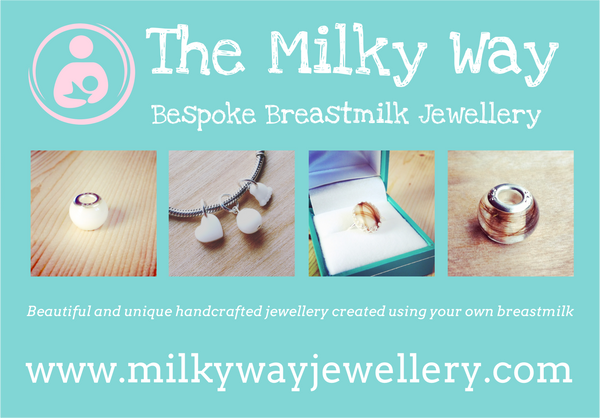 The Milky Way - The Milky Blog - Breastmilk Jewellery - Breastfeeding - La Leche League - Pandora Breastmilk Charms