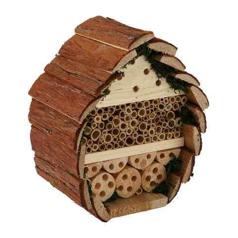 Insect Log Cabin Bee and Bug Home Insect Hotel
