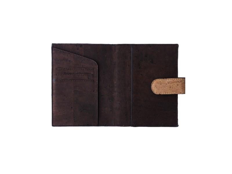Cedar Passport Wallet - Natural + Brown - Buy Eco Friendly Products - Upycled, Organic, Fair Trade :: Green The Map