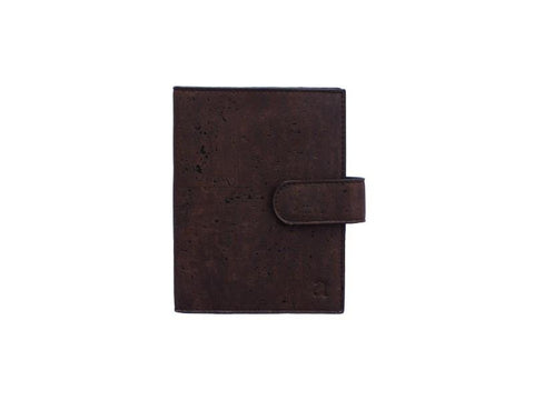 Cedar Passport Wallet - Brown + Blue