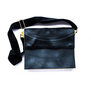 Envelope Tube Messenger Bag - Buy Eco Friendly Products - Upycled, Organic, Fair Trade :: Green The Map