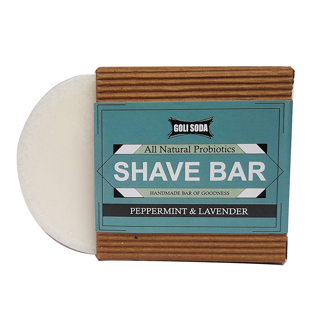 Probiotics Shave Bar -  Antibacterial, Anti fungal, Anti Septic & Astringent - Green The Map Upcycled Recycled Fairtrade Ecofriendly