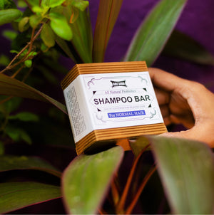 Probiotics Shampoo Bar For Normal Hair 90 gm -  All Natural/Biodegradable/Non Toxic/Cruelty Free/Palm Oil Free