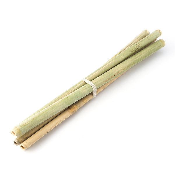 Bamboo Straws - Set of 6 - Eco-friendly/Washable/Reusable