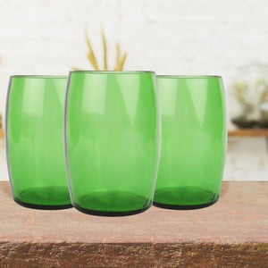 Upcycled Water glass- Beer (set of 4)