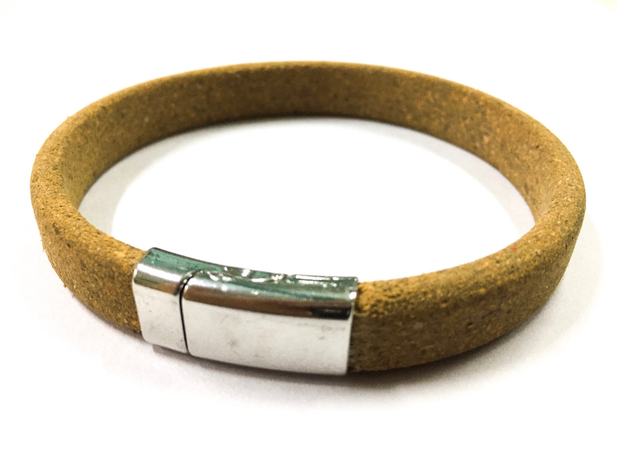 CORK RAKHI BAND - Green The Map Upcycled Recycled Fairtrade Ecofriendly