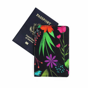 Mystic Flower Passport holder - Buy Eco Friendly Products - Upycled, Organic, Fair Trade :: Green The Map