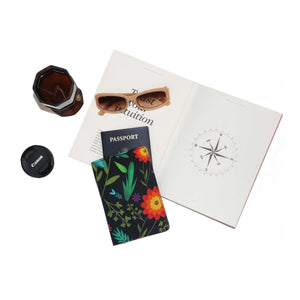 Mystic Flower Passport holder