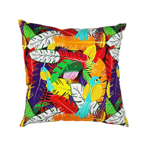 Wandering Bird Cushion Cover - Buy Eco Friendly Products - Upycled, Organic, Fair Trade :: Green The Map