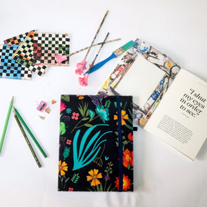 Mystic Flower Mini Sketch Book - Buy Eco Friendly Products - Upycled, Organic, Fair Trade :: Green The Map