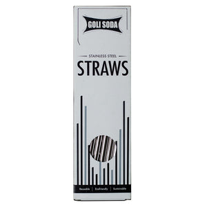 Stainless Steel Bent Straws