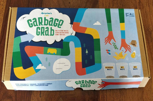 UL 01 Garbage Grab Board Game