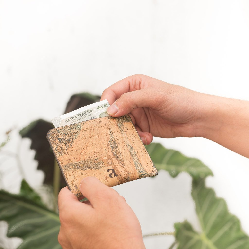 Reilly Card Case - Buy Eco Friendly Products - Upycled, Organic, Fair Trade :: Green The Map