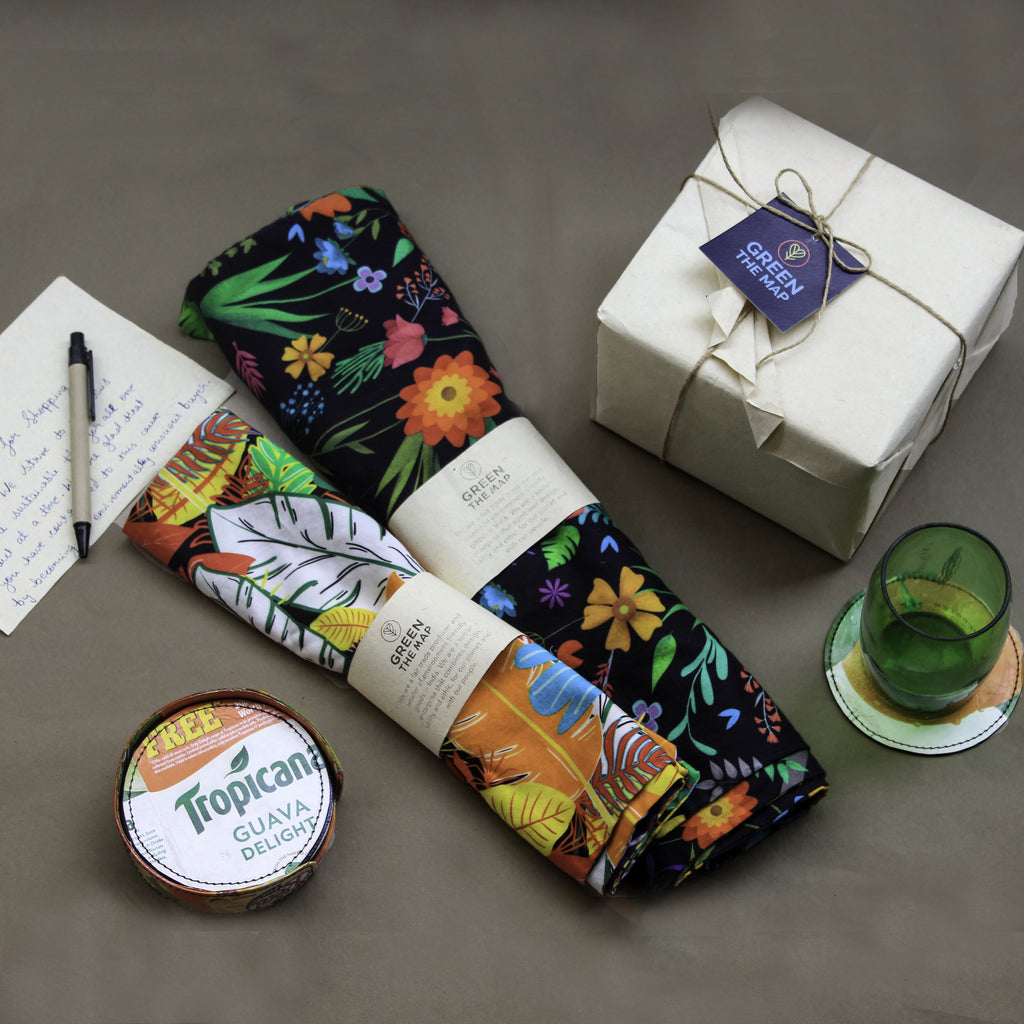 QUIRK ADDRESS GIFT PACK - Green The Map Upcycled Recycled Fairtrade Ecofriendly
