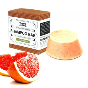 Probiotics Shampoo Bar For Oily Hair 90 gm -  All Natural/Biodegradable/Non Toxic/Cruelty Free/Palm Oil Free