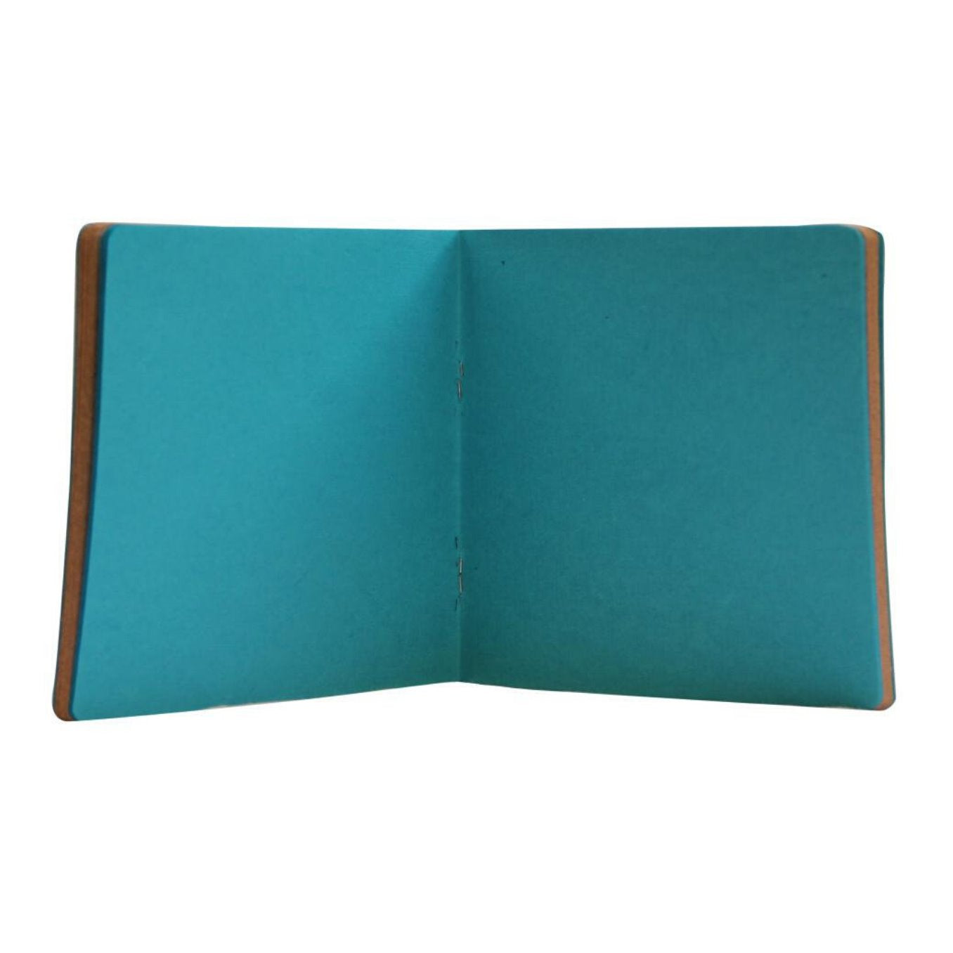 Walking Ele Square Diary Blue - Green The Map Upcycled Recycled Fairtrade Ecofriendly