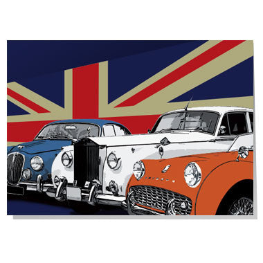 British Classic Cars Card