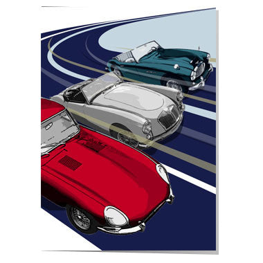 Three great British classic cars