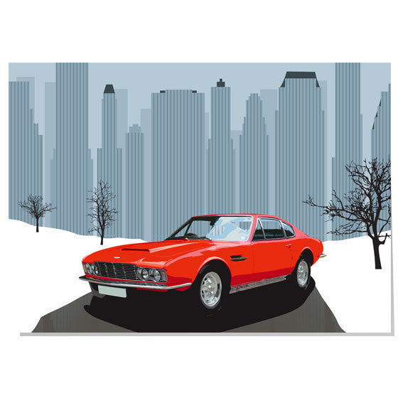 Aston Martin Christmas card