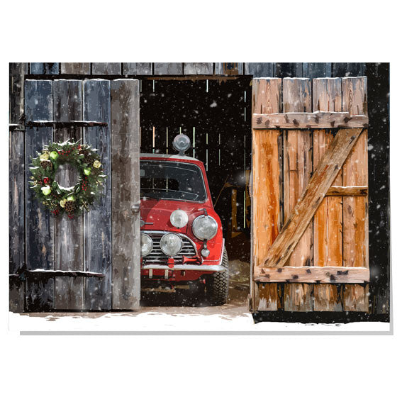 Mini Cooper Christmas card