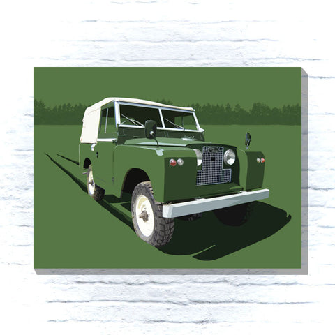 Land Rover Series 1 Canvas