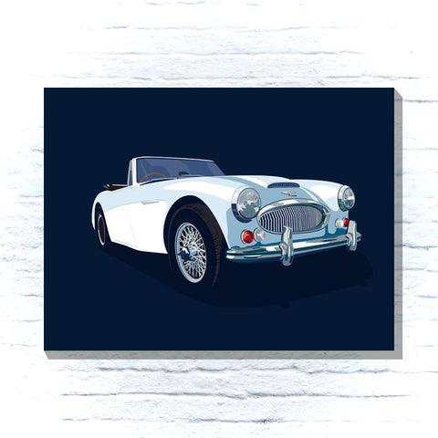 Austin Healey 3000 Canvas
