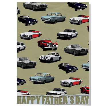 Classic Wallpaper Father's day card
