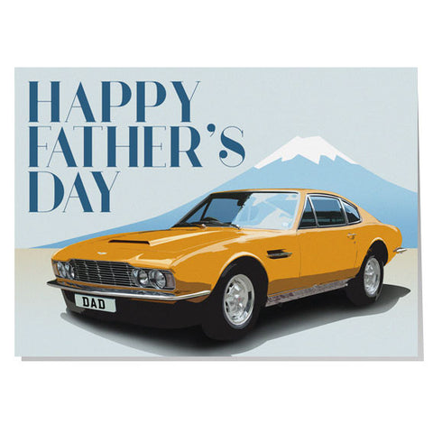 Jenson Interceptor Father's day card