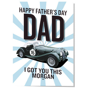 Morgan Father's day card