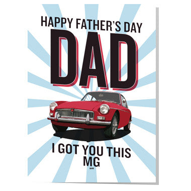 MG Father's day card