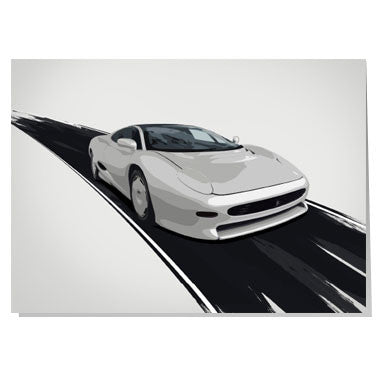 Jaguar XJ220 card