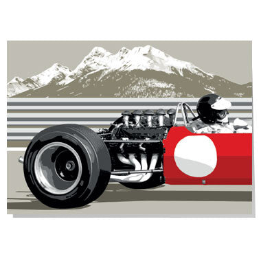 Classic Grand Prix car card