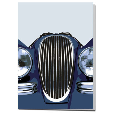 Jaguar XK120 card