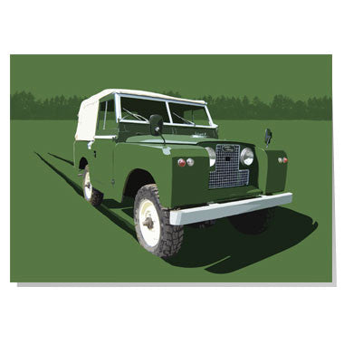 Land Rover Series 1 card