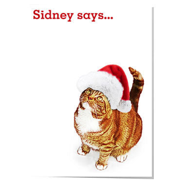 Y24 Sidney says... Santa card