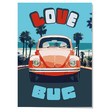 Love Bug Valentine card
