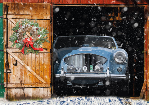 Austin Healey Christmas card
