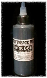 Silverback Ink 120ml Dark Greywash 666