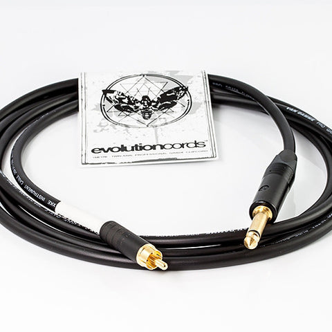 Evolution Cords - 2 m Straight RCA Cord