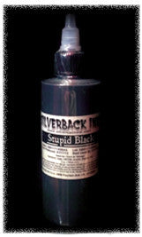 Silverback Ink 120ml Stupid Black