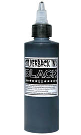Silverback Ink 120ml Instablack
