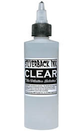 Silverback Ink 120 ml XXX Clear Solution