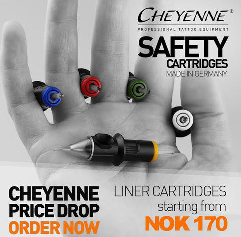 Cheyenne Liner Needle Cartridge