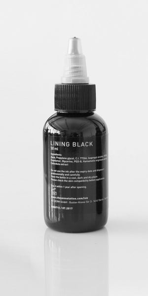 Cheyenne Ink - Lining Black - 50ml
