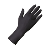 ***NEW*** LONG SLEEVE UNIGLOVES Black Latex procedure gloves - INTRODUCTORY PRICE! - powder free. Perfect for avoiding wrist splatter!