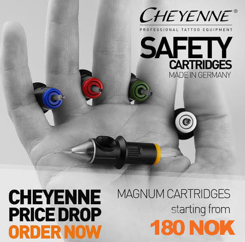 Cheyenne Magnum Needle Cartridge