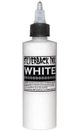 Silverback Ink 120 ml XXX Bottle in White