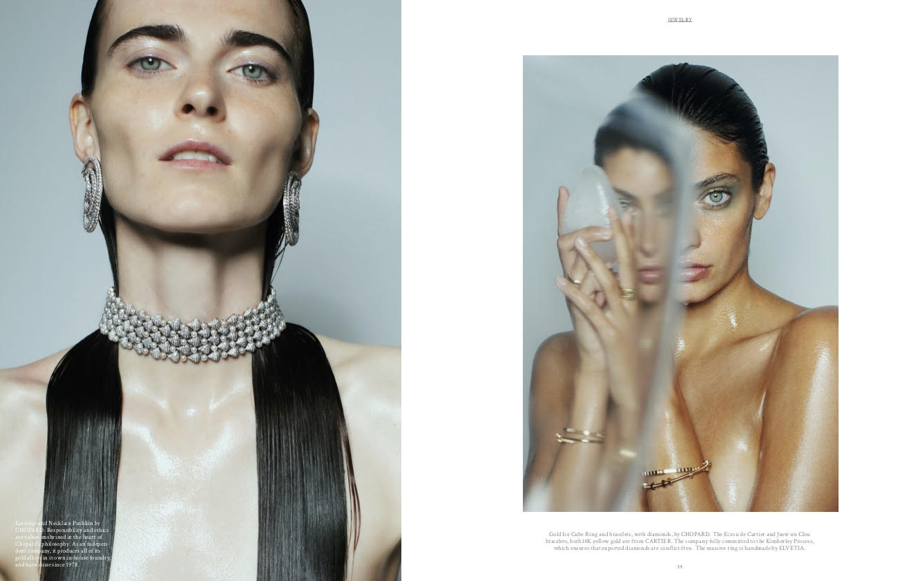Luxiders Magazin ELVETIA Sustainable Luxury Shooting with Cartier and Chopard